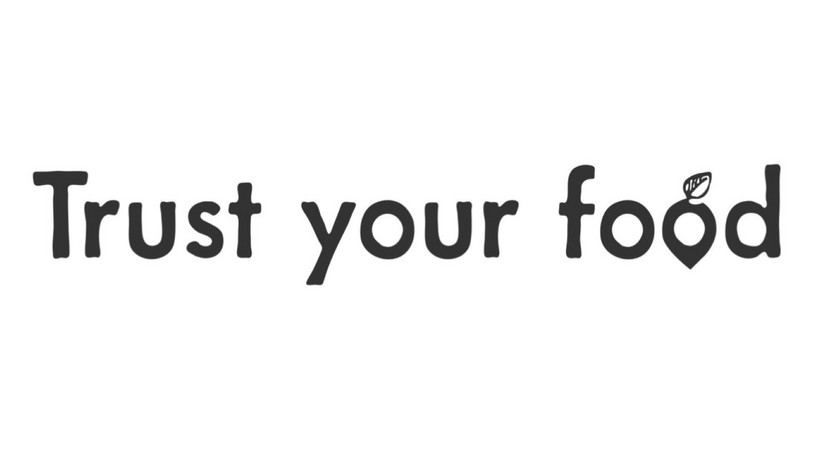 "Logo Start-Up ""Trust your food"""
